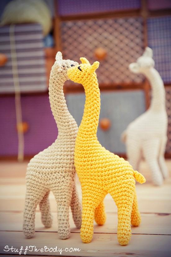 Amigurumi Stuff The Body : Giraffe Crochet Pattern Stuff The Body