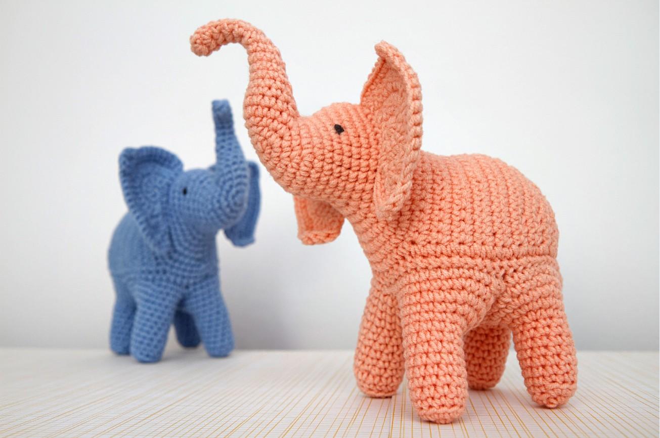 Elephant crochet pattern Stuff The Body