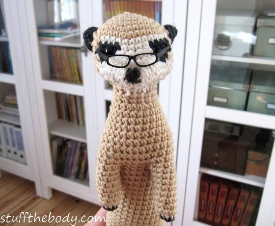 crochet meerkat