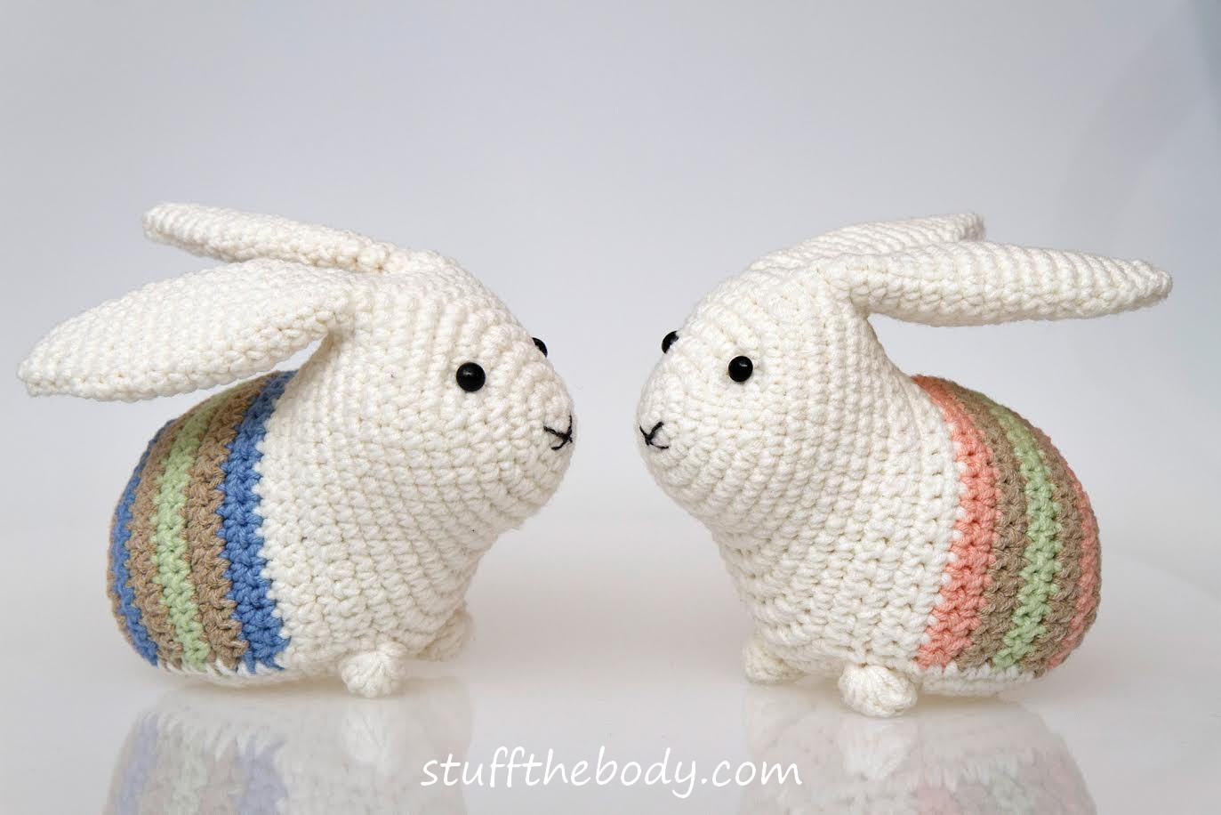 Ravelry: Spring Bunnies pattern by Stephanie Jessica Lau | 916x1373