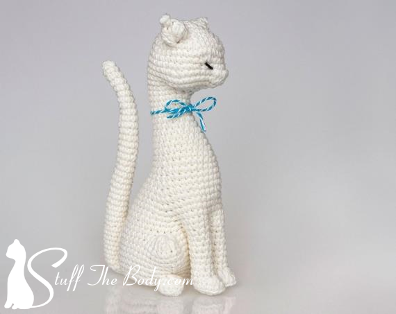Cat Princess Amigurumi Pattern Stuff The Body
