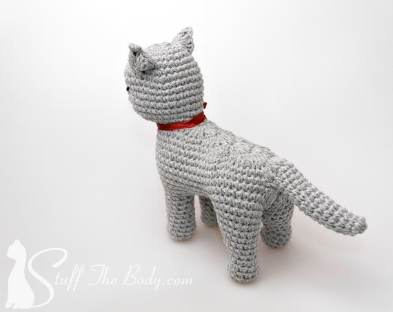 Kerry Blue Terrier dog with wire frame. Amigurumi Crochet Pattern ... | 453x570
