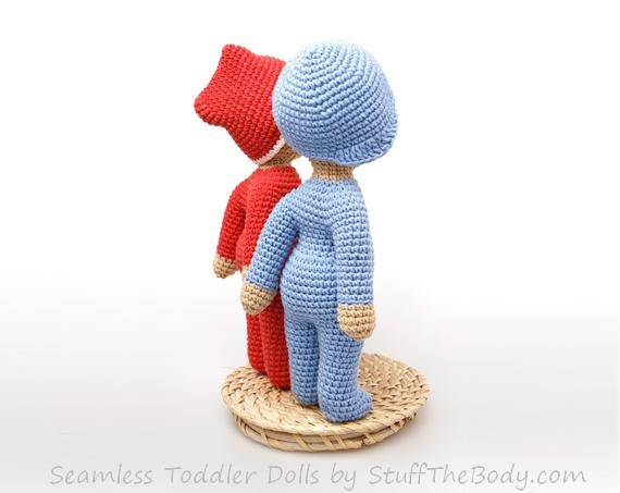 Amigurumi Stuff The Body : Seamless Baby Boys/Toddlers Amigurumi Pattern Stuff The Body