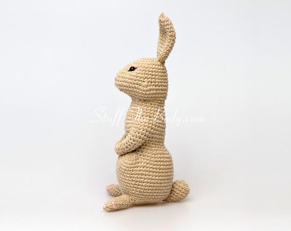 Amigurumi Bunny Pattern for Easter or Springtime