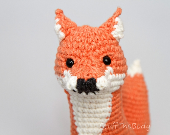 Malcolm The Fox Seamless Amigurumi Pattern