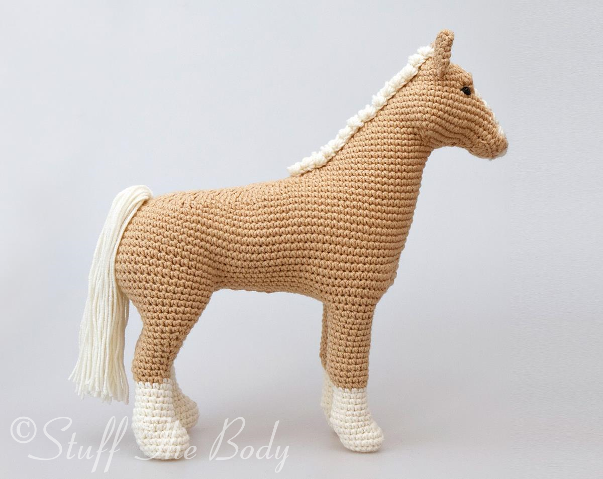 Free Crochet Pattern For Horse : Abby The Horse Amigurumi Pattern Stuff The Body