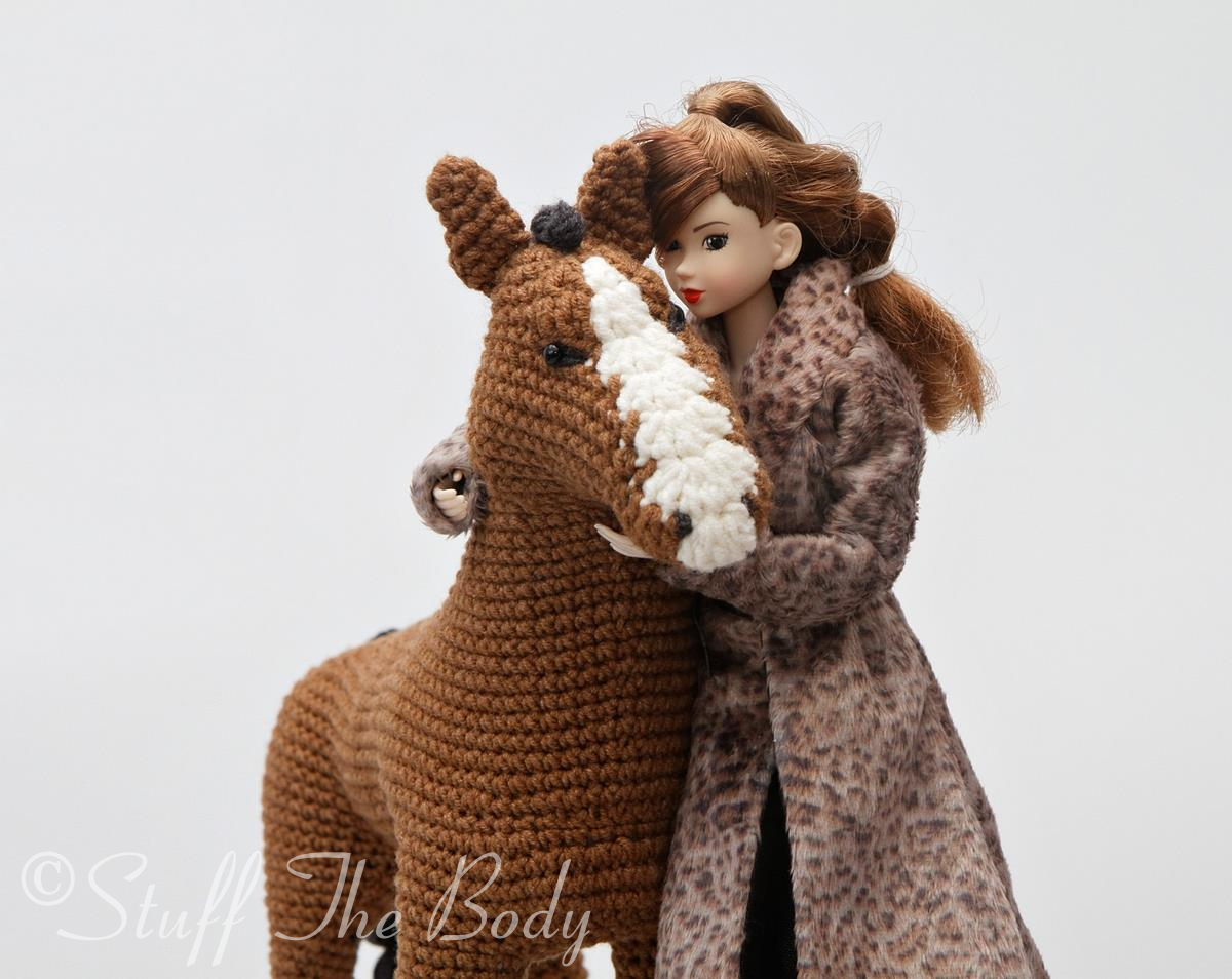 Cutest crochet horse! Pattern | Crochet horse, Crochet patterns ... | 954x1200
