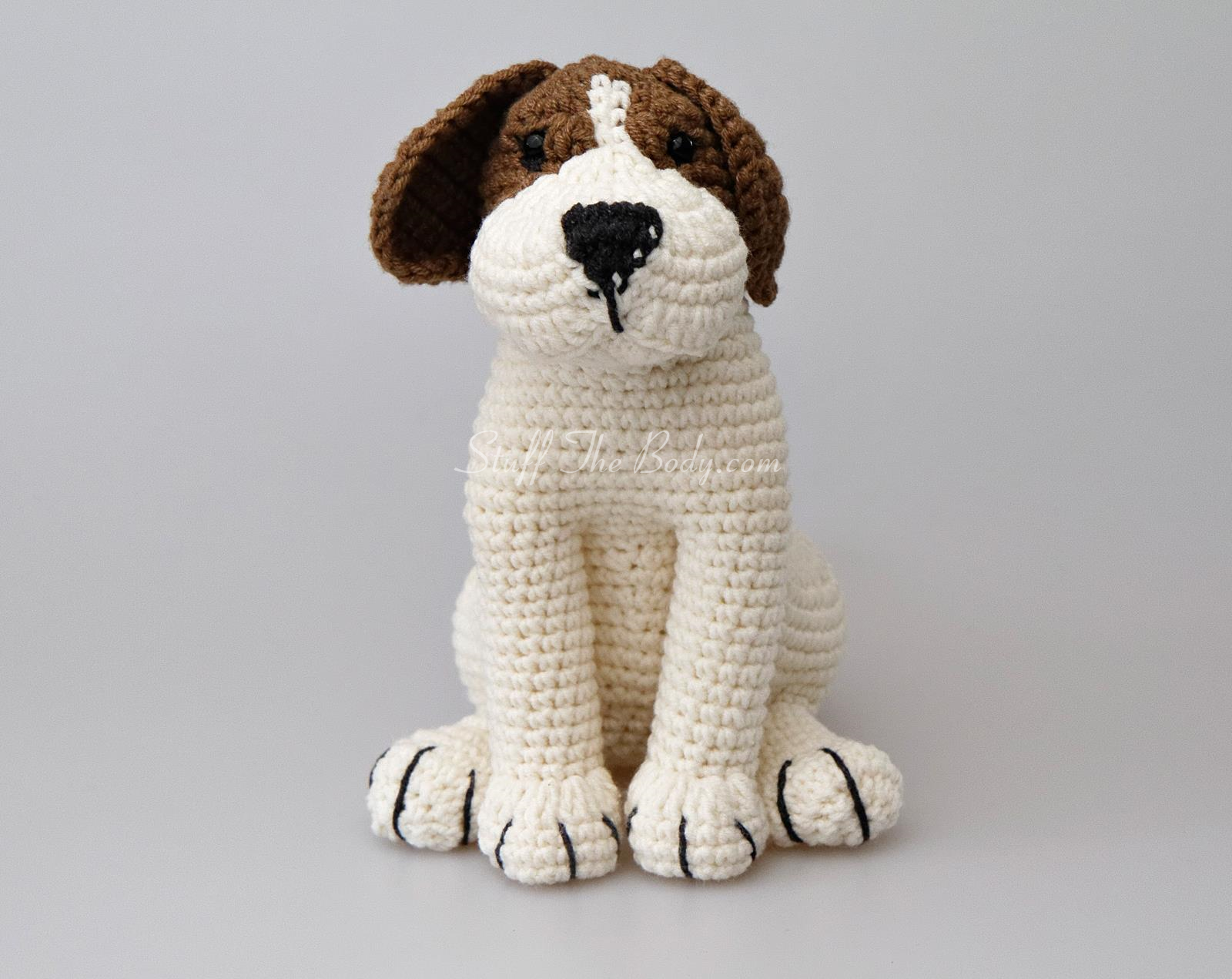 Azor The Beagle Dog Amigurumi Pattern