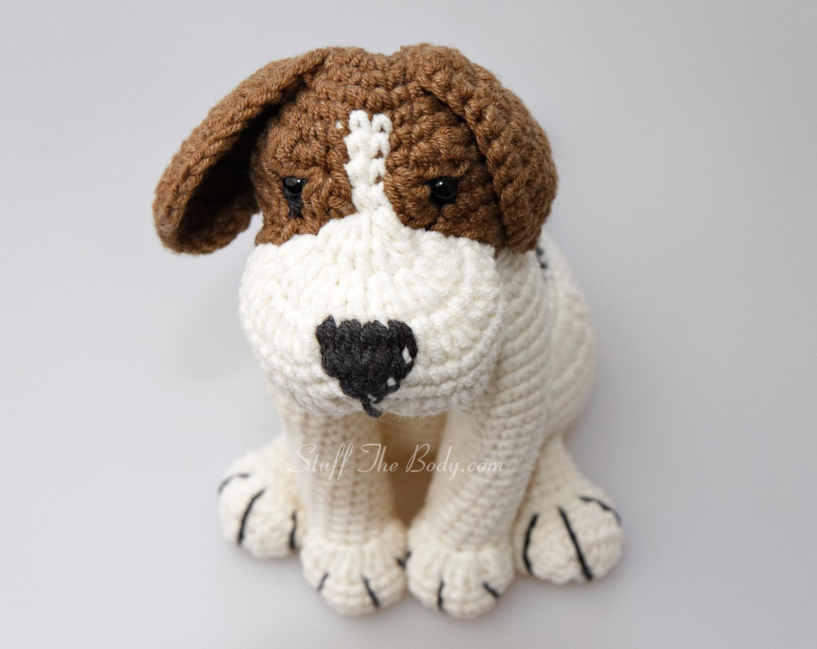 Amigurumi Pug Dog Pattern : Stuff The Body Advanced Amigurumi Patterns