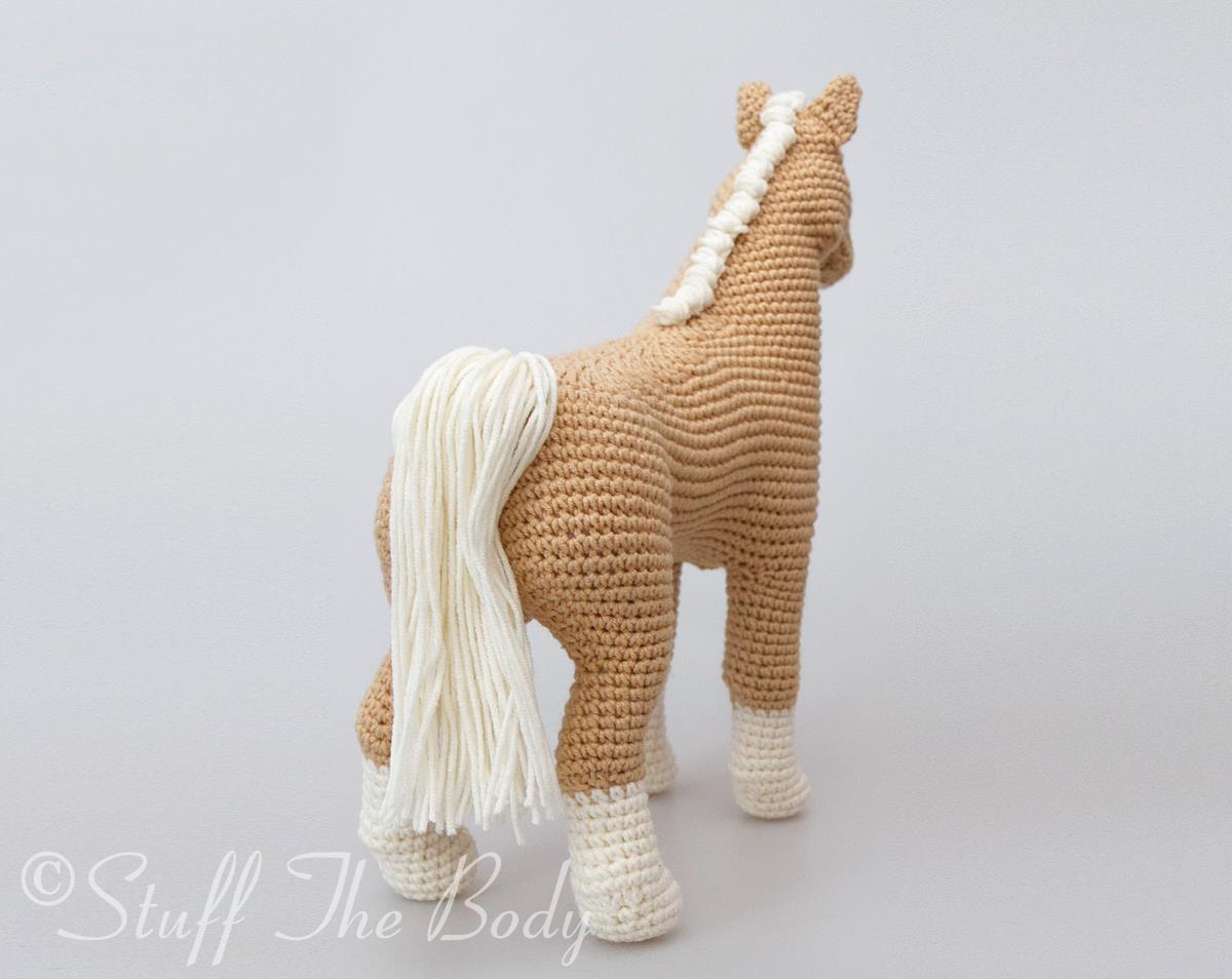 Pony crocheted horse 100